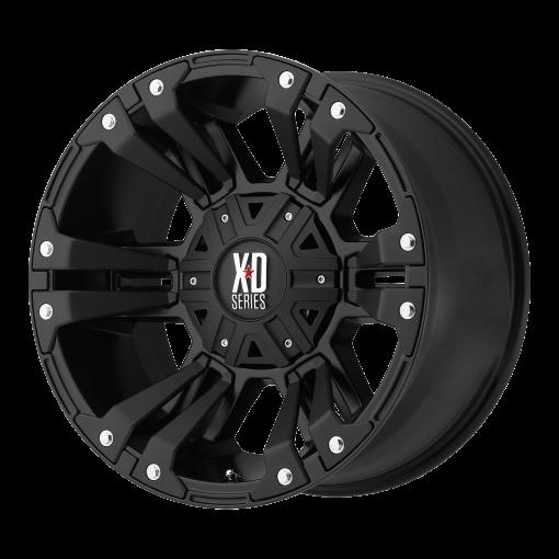 XD Series Custom Wheels XD822 MONSTER II BLACK