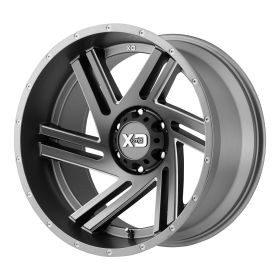 XD Series Custom Wheels XD835 SWIPE GRAY MILLED