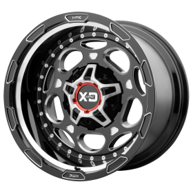 XD Series Custom Wheels XD837 DEMODOG BLACK MILLED