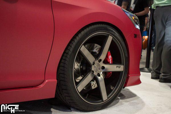 Honda Accord 20x8.5 Niche Milan M134 Wheels
