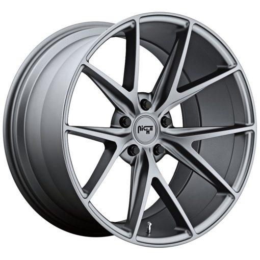 Niche Custom Wheels M129 TARGA MATTE GUNMETAL