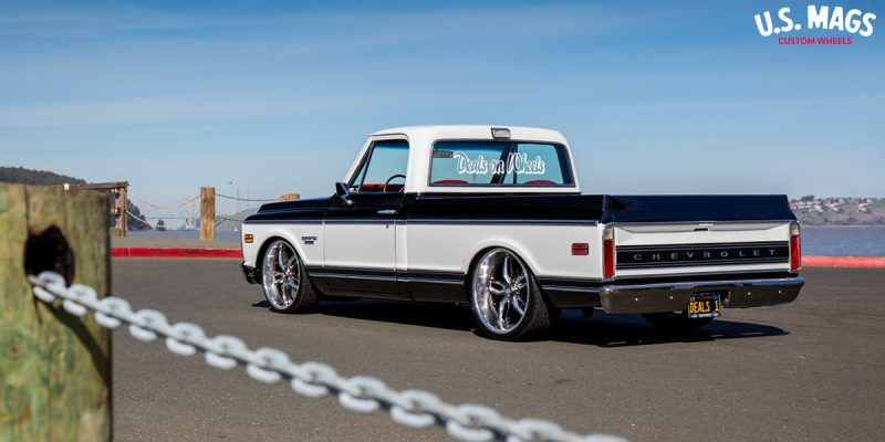 Chevrolet C10 w/ 22×8 5 USMAGS C-Ten – U129 Wheels - WheelsASAP