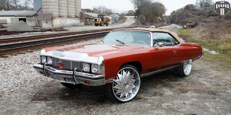 Chevrolet Impala 26x9 Dub Dazr S234 Wheels