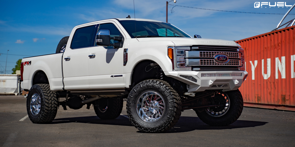 Ford F-250 Super Duty 20x12 Fuel Triton D609 Wheels