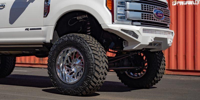 Ford F-250 Super Duty 20x12 Fuel Triton D609 Wheels