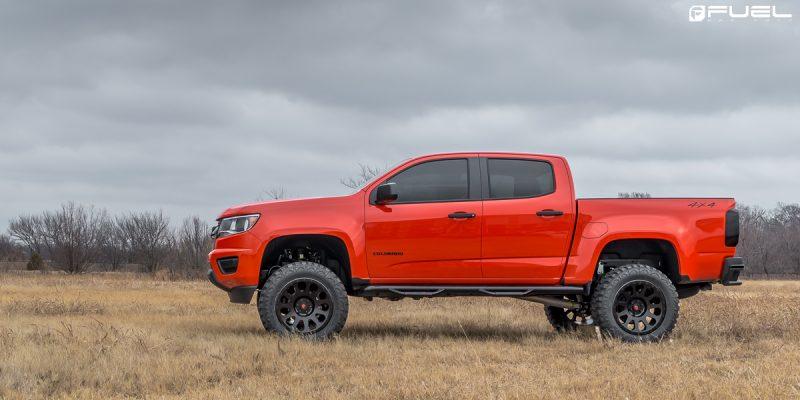 Chevrolet Colorado 20x9 Fuel Vector D579 Wheels