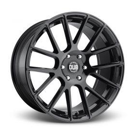 DUB Custom Wheels LUXE S205 GLOSS BLACK