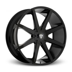 DUB Custom Wheels S110 PUSH GLOSS BLACK