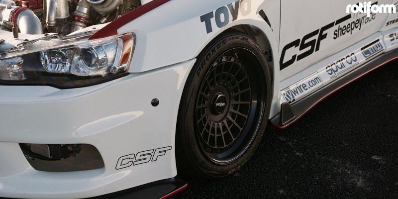 Mitsubishi Lancer 19 Rotiform LAS R Wheels