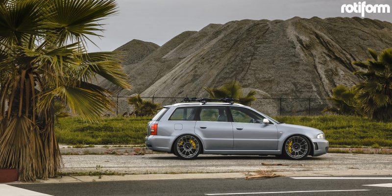 Audi RS4 19x10 Rotiform OZR Wheels