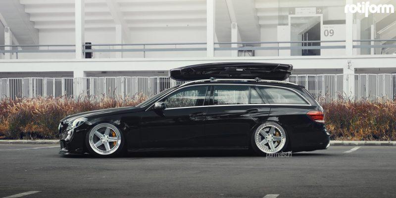 Mercedes-Benz E63 AMG 20 Rotiform PNT Wheels