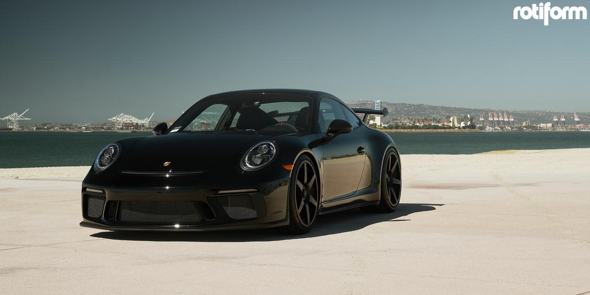 Porsche GT3 20 Rotiform SIX Wheels