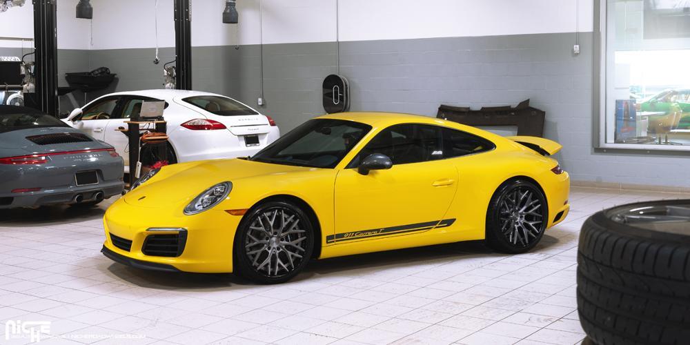 Porsche 911 20x9 Niche Verux Wheels