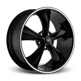 Foose Custom Wheels F104 LEGEND GLOSS BLACK MILLED