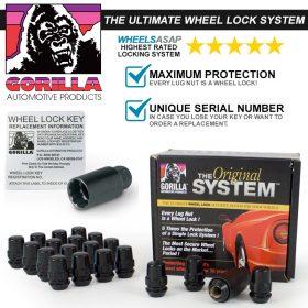 Gorilla System Lock Maximum Protection (Black)