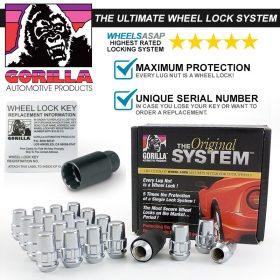 Gorilla System Lock Maximum Protection (Chrome)
