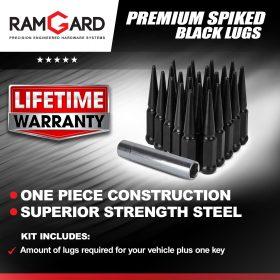 Premium Spiked Lugs (Black)