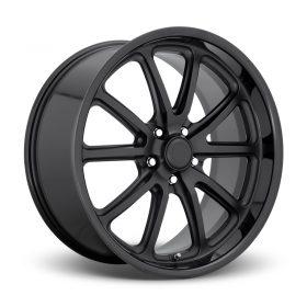 US MAG Custom Wheels RAMBLER U123 MATTE GLOSS BLACK