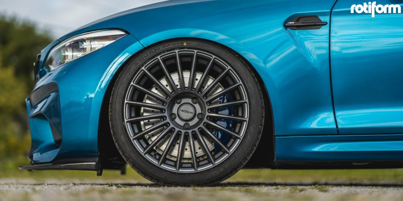 BMW M2 19x8.5 Rotiform BUC Wheels