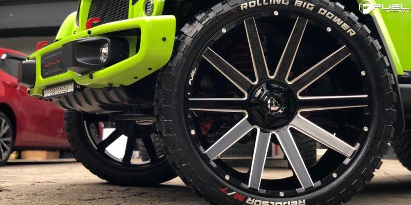 Jeep Wrangler 26x12 Fuel Contra D615 Wheels