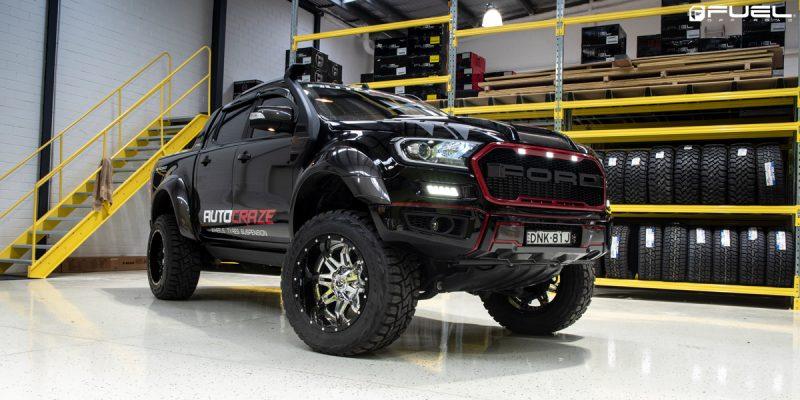 Ford Ranger 20x10 Fuel Lethal D266 Wheels