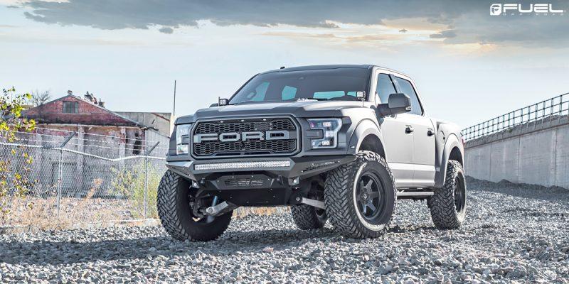 Ford F-150 Raptor 20x9 Fuel Shok D664 Wheels