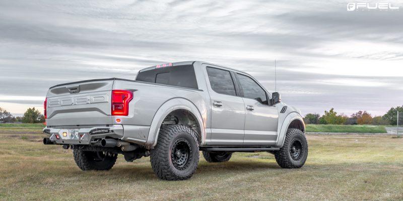 Ford F-150 Raptor 17x9 Fuel Zephyr D633 Wheels