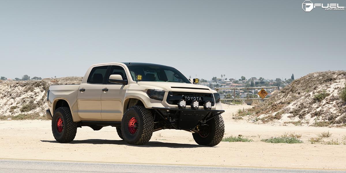 Toyota Tundra 17x9 Fuel Zephyr D632 Wheels
