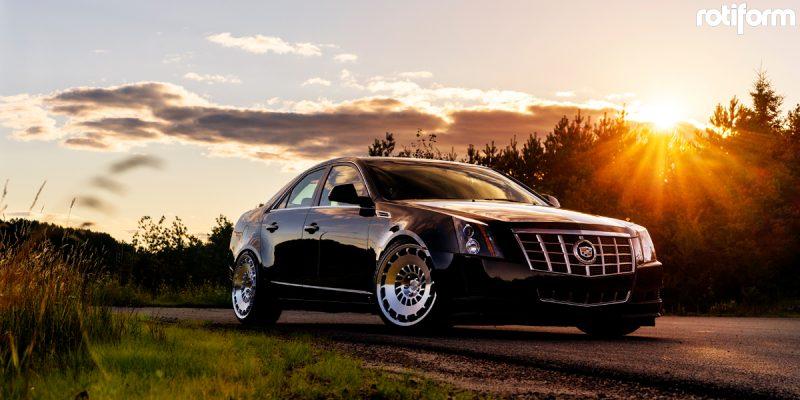 Cadillac CTS 20x10 Rotiform CCV Wheels