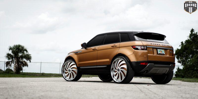 Land Rover Range Rover Evoque 26 DUB Cojones S817 Wheels