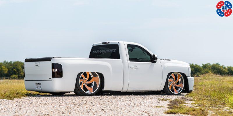 Chevrolet Silverado 1500 24x9 USMAGS Desperado 6 U424 Wheels