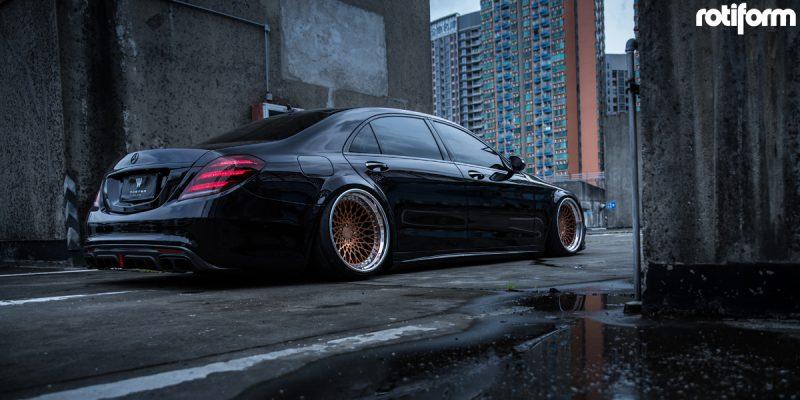 Mercedes-Benz S500 21x10 Rotiform LHR Wheels