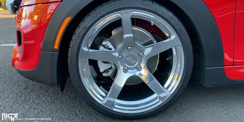 Mini Cooper S 18x8.5 Niche Scuderia 5 Wheels