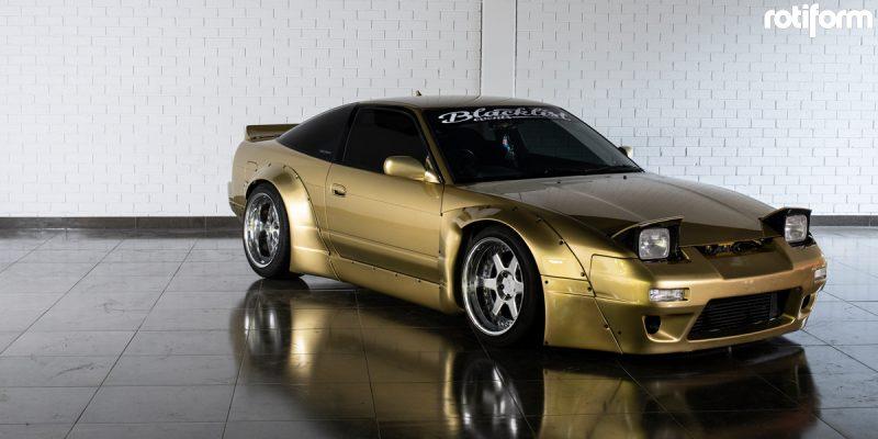 Nissan 240SX 18x9.5 Rotiform SIX Wheels