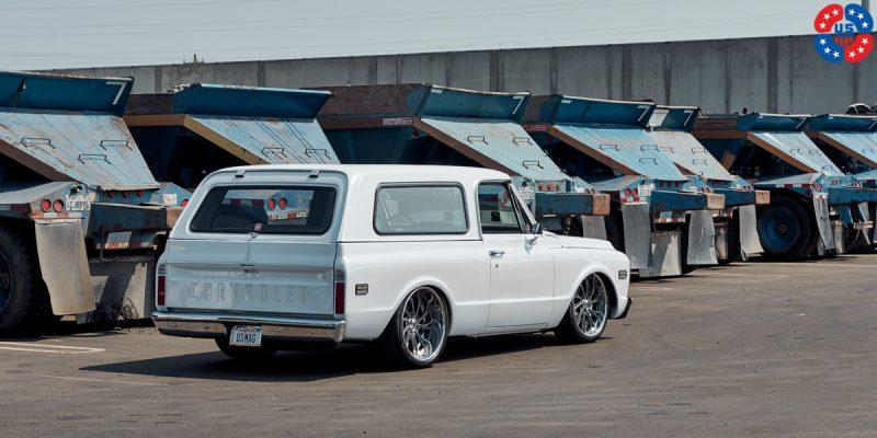 Chevrolet Blazer 22x9 USMAGS Slasher U707 Wheels