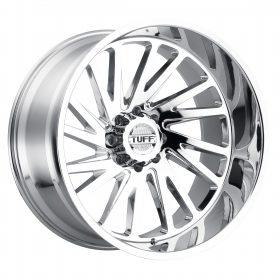TUFF Custom Wheels T2A CHROME