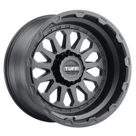 TUFF Custom Wheels T3A BLACK