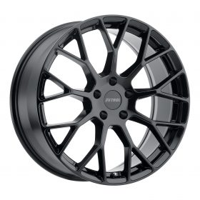 Petrol Custom Wheels P2B BLACK