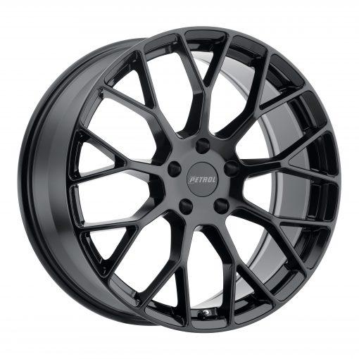 Petrol Custom Wheels P2B BLACK