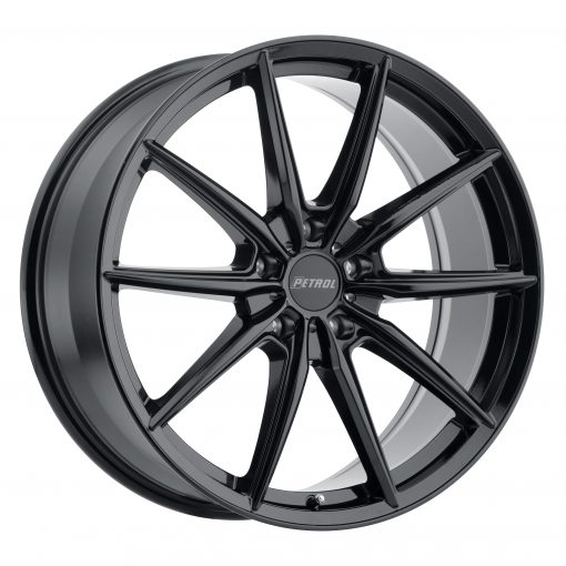 Petrol Custom Wheels P4B BLACK