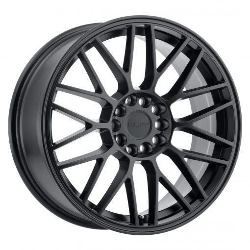 Ruff Custom Wheels OVERDRIVE BLACK