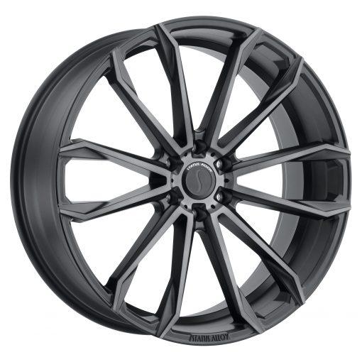 Status Custom Wheels MASTADON GRAPHITE