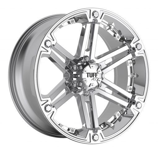 TUFF Custom Wheels T01 CHROME