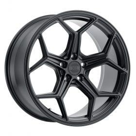 XO Luxury Custom Wheels HELSINKI BLACK
