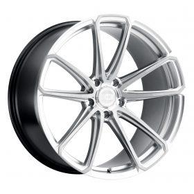 XO Luxury Custom Wheels MADRID MACHINED SILVER