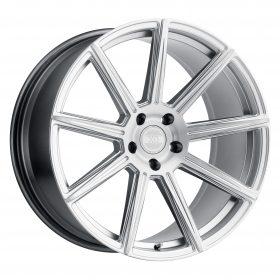 XO Luxury Custom Wheels VEGAS MACHINED SILVER
