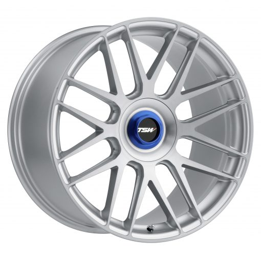 TSW Custom Wheels HOCKENHEIM T MACHINED SILVER