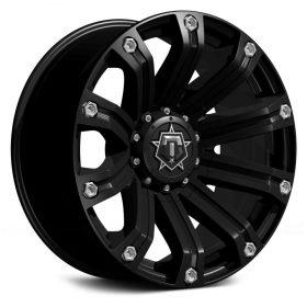 TIS Custom Wheels 534B SATIN BLACK