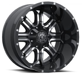 TIS Custom Wheels 535MB GLOSS MACHINED BLACK