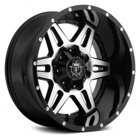 TIS Custom Wheels 538MB GLOSS MACHINED BLACK